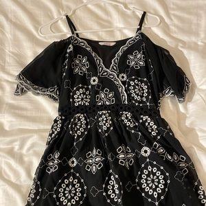 ASOS Petite black mini dress